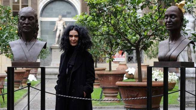 L'artista Helga Vuockenhuber dona un'opera a Palazzo Medici Riccardi (New Press Photo)