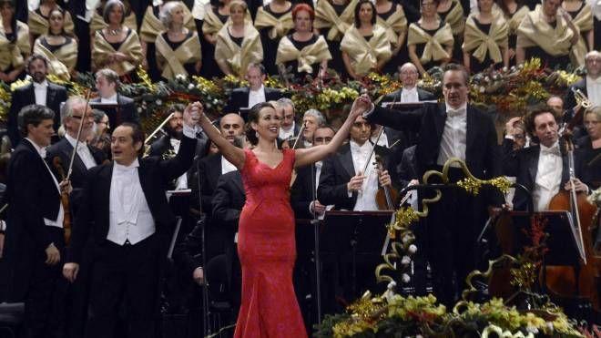 Concerto di Capodanno alla Fenice di Venezia (Ansa)