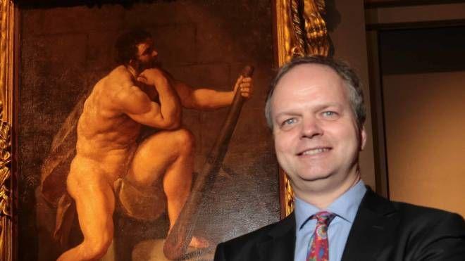 Il direttore della Galleria degli Uffizi Eike Schmidt (Newpress)