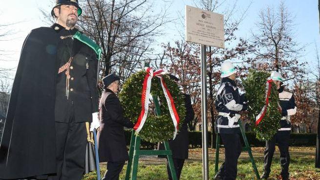 Commemorazione vigile Nicolò Savarino