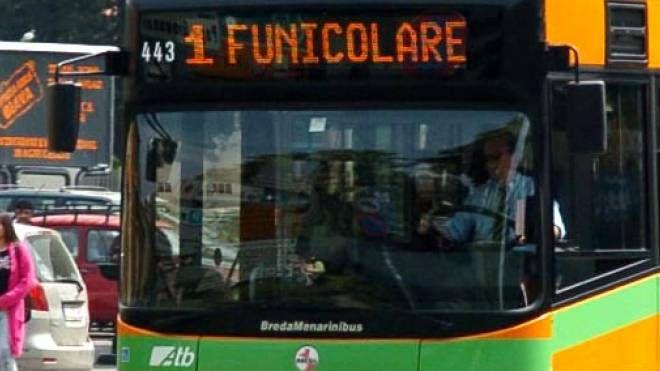 Un autobus dell'Atb di Bergamo