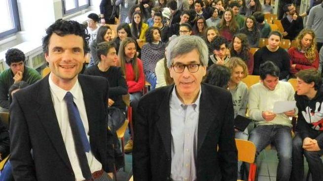 Il sindaco Biffoni e il senatore Mazzoni al Cicognini