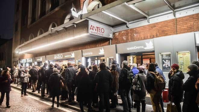 Il cinema Anteo di Milano (Newpress)