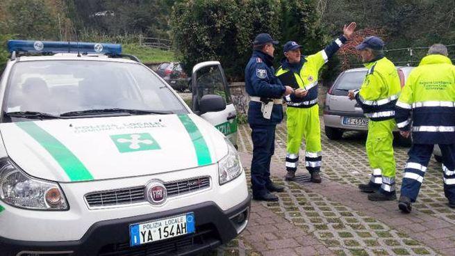 Galbiate, Polizia locale al lavoro (Cardini)