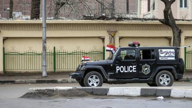 Polizia egiziana (Ansa)