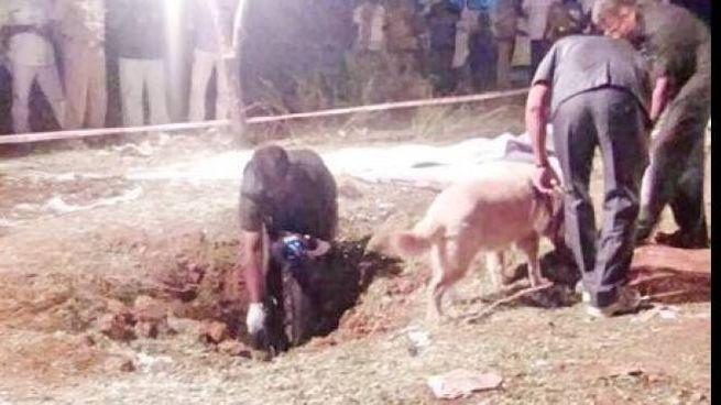 Meteorite caduto in India (da twitter)