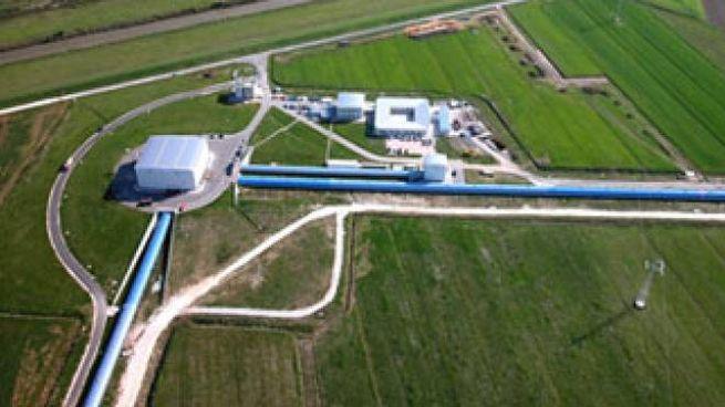 L'interferometro Virgo a Cascina (Pisa)