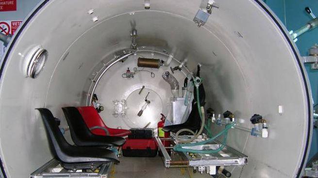 Una camera iperbarica (foto di repertorio)