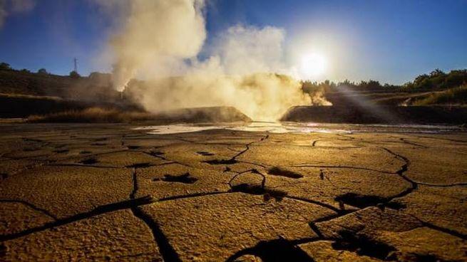 Una delle manifestazioni geotermiche che più facile vedere in zona