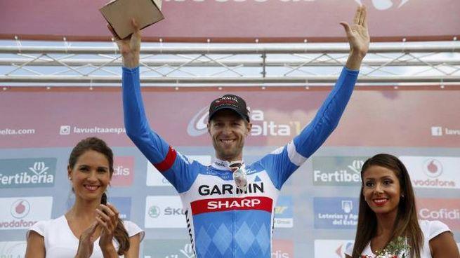 Hesjedal vince la 14esima tappa della Vuelta a Espana 2014 (Ansa)