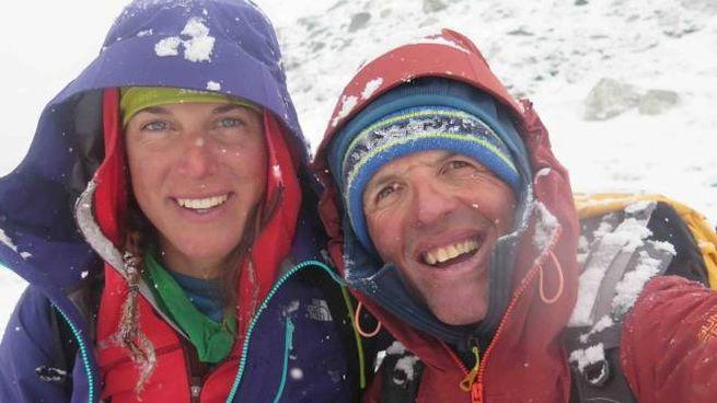 Simone Moro e Tamara Lunger: incidente
