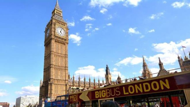 Il Big Ben a Londra (Olycom)