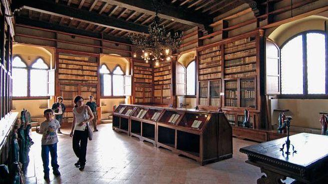 Biblioteca di Poppi