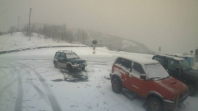La neve in Mugello