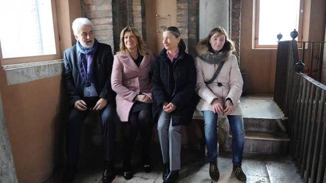 Da sinistra l'assessore Giacobazzi e Patrizia Tassello dei Lions