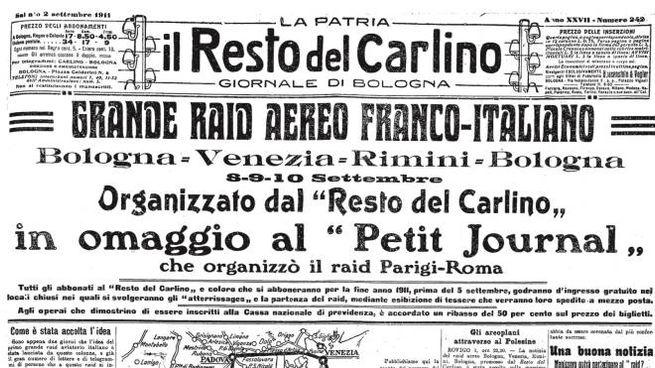 il Resto del Carlino (2 settembre 1911)