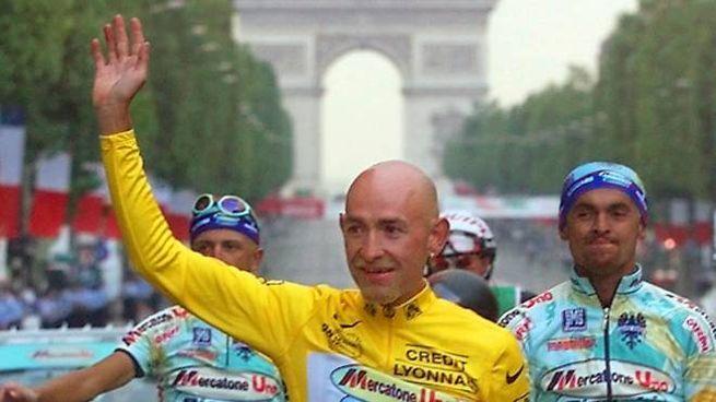 Marco Pantani vincitore del Tour de France del 1998