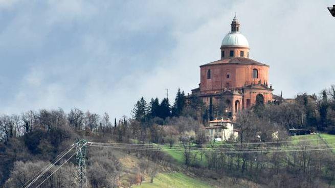 La basilica di San Luca sul Colle della Guardia (Foto Schicchi)