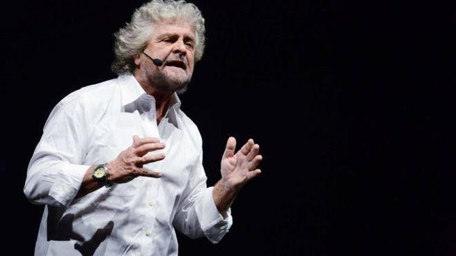 Beppe Grillo, leader del Movimento 5 Stelle (Foto Bettolini)
