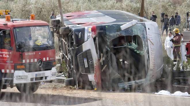 Spagna, si schianta bus con Erasmus (Olycom)