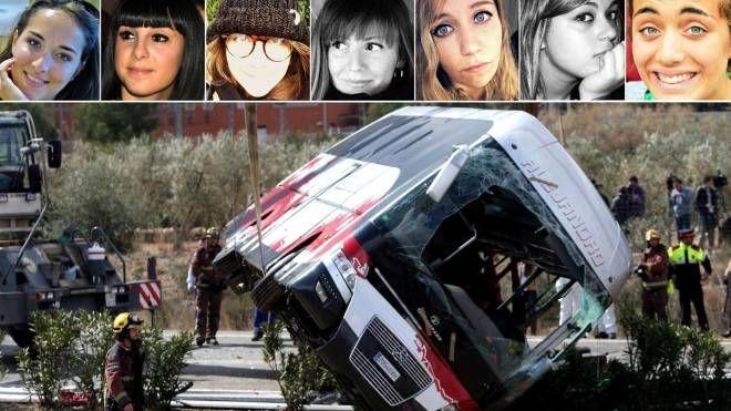 Incidente in Spagna, morte 7 ragazze italiane (Ansa)