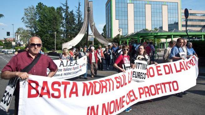 La manifestazione di protesta