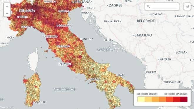 Cartina Della Toscana Con Tutti I Comuni.Ecco I Comuni Piu Ricchi Della Toscana Cronaca Lanazione It