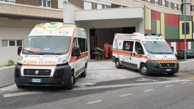 Il pronto soccorso di Fermo (Foto Zeppilli)