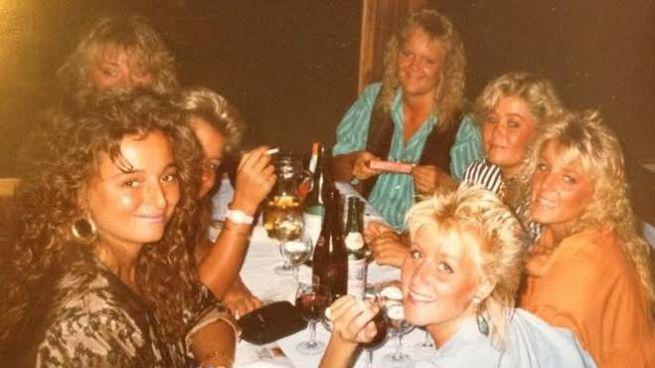 Svedesi in vacanza a Rimini nel 1986