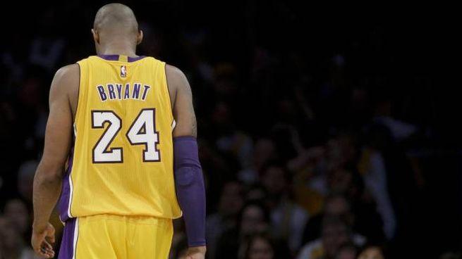 Kobe Bryant, l'addio (Ansa)