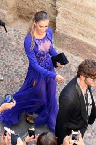 sale retailer a91a8 b6af0 Parterre vip al matrimonio di Elisabetta Canalis - Cronaca ...
