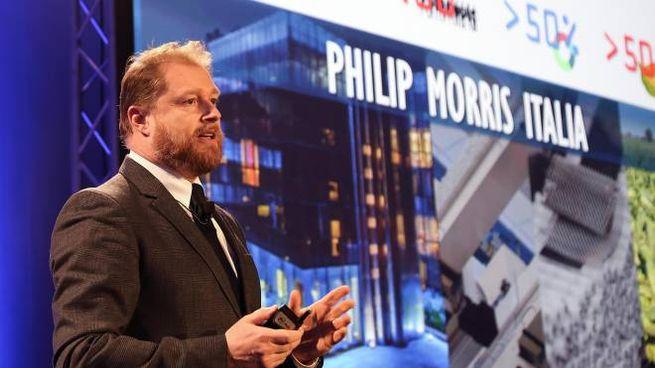 L'amministratore delegato di Philip Morris Italia Eugenio Sidoli (Foto Ansa)