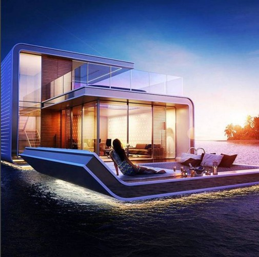 Dubai Ecco Le Prime Ville Galleggianti Sotto La Camera Da Letto Sopra Il Mare Esteri