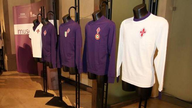 Alcune maglie storiche della Fiorentina (Germogli)