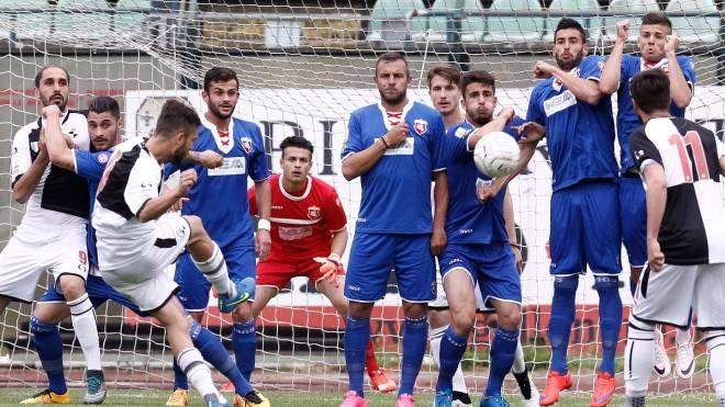 Siena-Ancona, una fase di gioco (Dipietro)