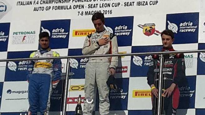 Rodriguez sul podio ad Adria