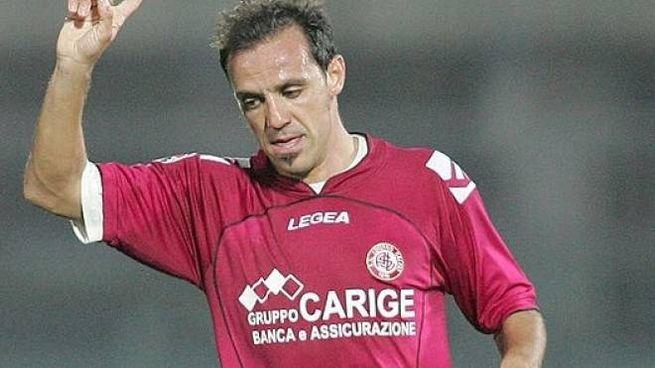 Antonio Filippini quando giocava nel Livorno