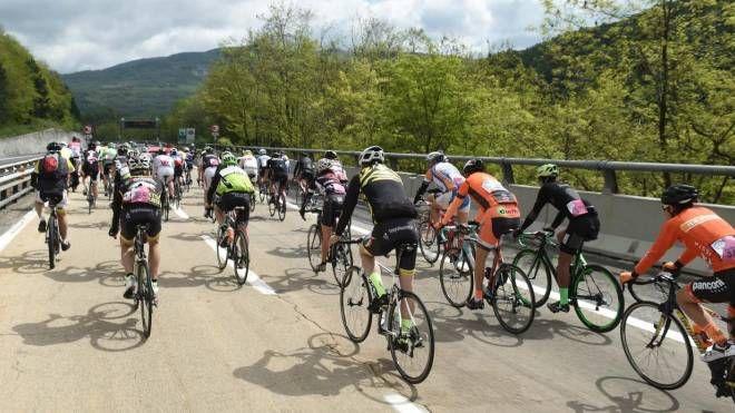 Giro d'Italia, 'tappa' speciale sull'A1 (ANSA)