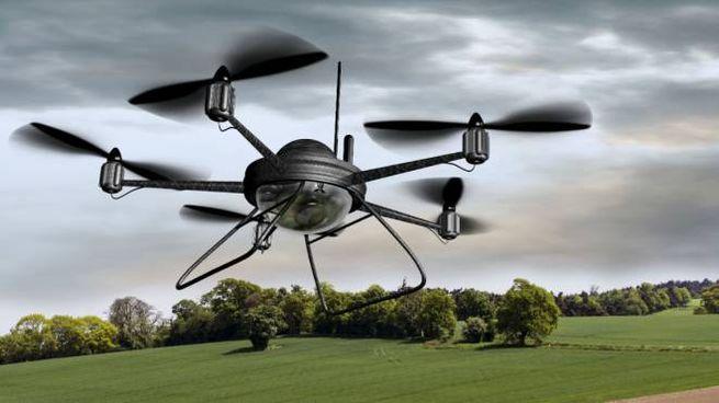 Un drone, questi oggetti saranno protagonisti alla Notte Viola (foto Dire)