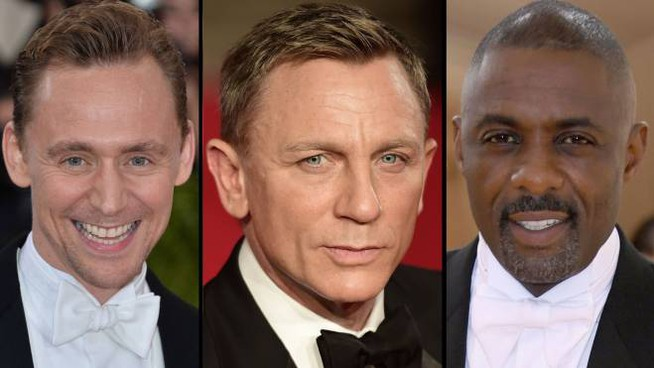 007, Daniel Craig e i suoi possibili sostituti: Tom Hiddleston e Idris Elba