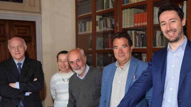 I protagonisti dell'iniziativa a Villa Mirabello