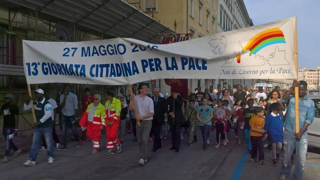 Giornata della pace a Livorno