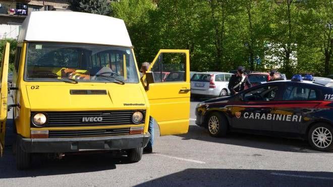 Castelguglielmo, picchiato l'autista di uno scuolabus (Foto di repertorio Ansa)