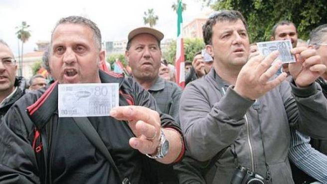 Protesta dei lavoratori