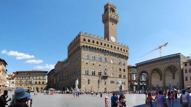 Palazzo Vecchio Firenze. Foto: Zolli via Wikimedia Commons