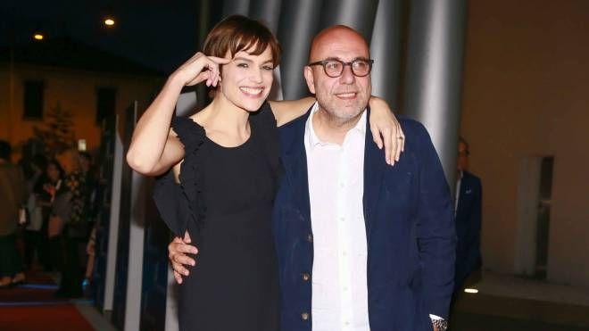 Micaela Ramazzotti e Paolo Virzì (Lapresse)