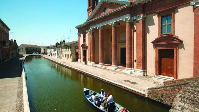 La facciata del Vecchio Ospedale San Camillo