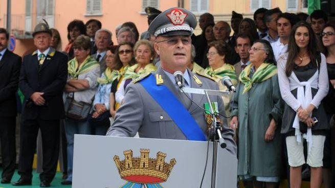 L'ex generale della Guardia di finanza, Domenico Minervini
