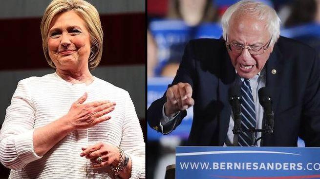 Hillary Clinton vince la nomination. Sanders sconfitto (Afp)