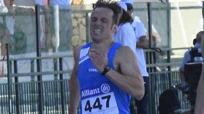 Non mollare mai è il motto del velocista lucchese Andrea Lanfri